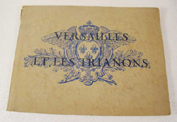 antique Versailles lithographs booklet