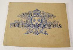 antique Versailles lithographs booklet