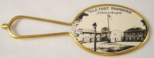 Worlds Fair Pocket Mirror