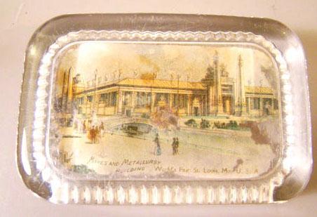 World's Fair Paperweight 1904