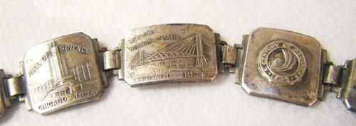 Worlds Fair Scenic Bracelet