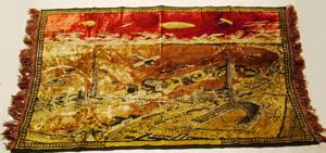 1933 Worlds Fair Tapestry, Century of                             Progress, Chicago Il