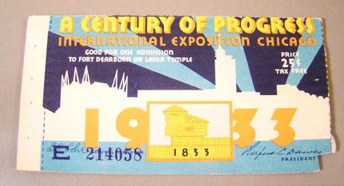 Worlds Fair Ticket