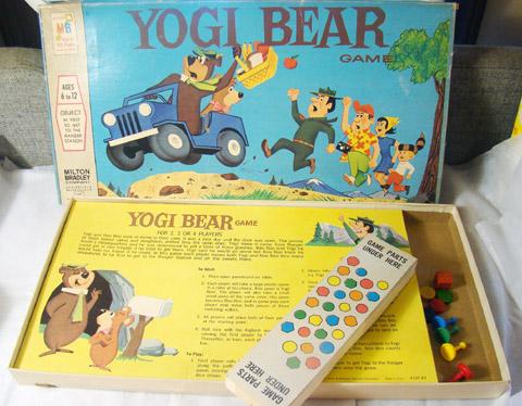 Vintage Milton Bradley Yogi Bear Board                             Game